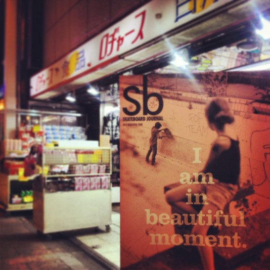 Sb SKATEBOARD JOURNAL 2014BEAUTIFULYEAR