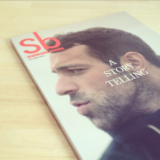 Sb SKATEBOARD JOURNAL vol.24 A STORY TELLING